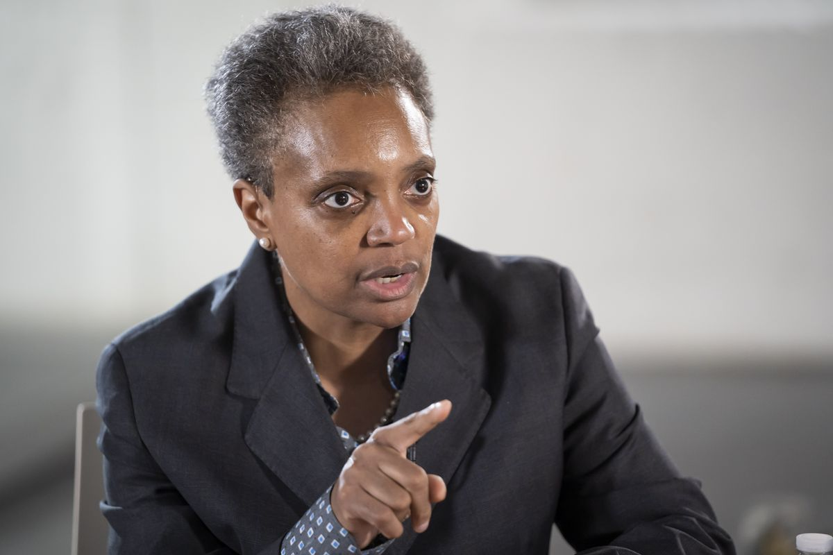 "Did Chicago Mayor Lori Lightfoot did advocate selecting leaders who are part of a ""New World Order""?"