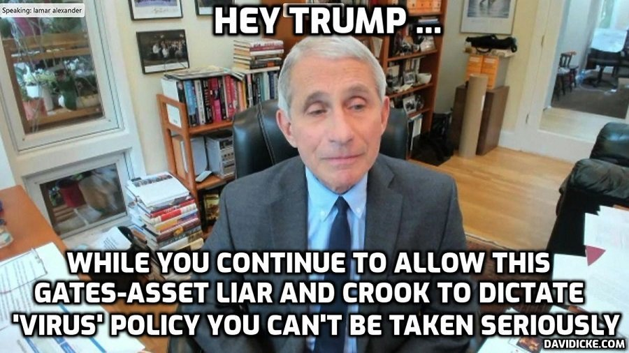 Genetic liar Fauci accuses public of 'amazing denial' when it comes to 'truth'. He means they don't believe his monumental lies