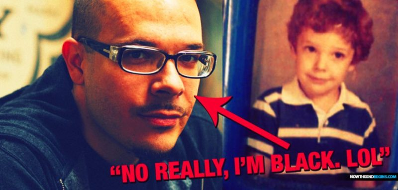 Fake Black Man, Shaun King, Calls For Destruction Of All Jesus Statues And Stained Glass In Christian Churches