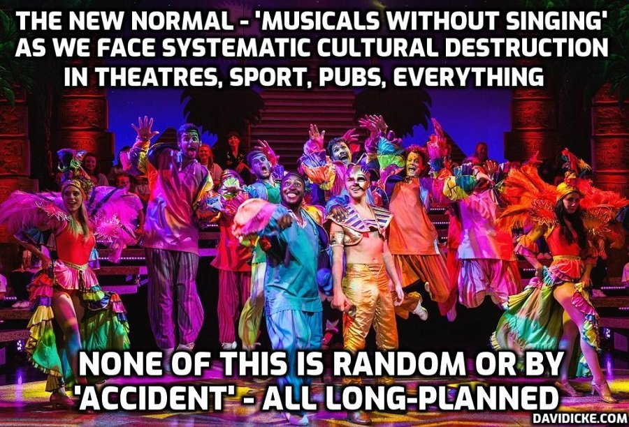 Andrew Lloyd Webber says government suggested musicals return 'without any singing'