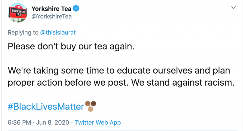 "Yorkshire Tea ""Please don't buy our tea again"" – More madness"