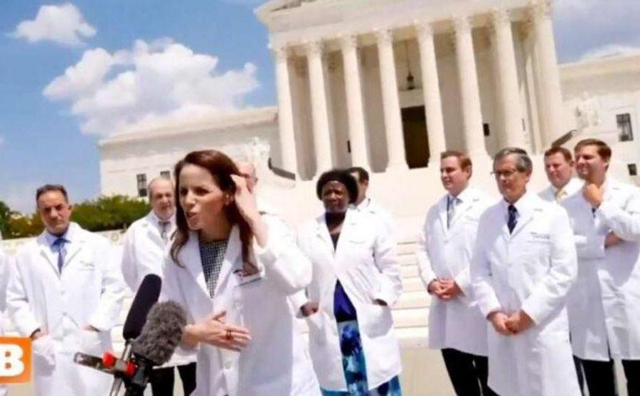 Squarespace shuts down America's Frontline Doctors website