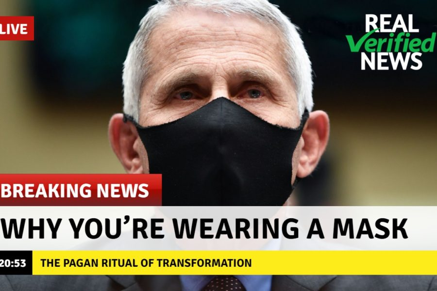 Why You're Wearing A Mask