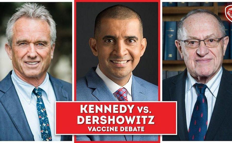 Heated Vaccine Debate – Kennedy Jr. vs Dershowitz