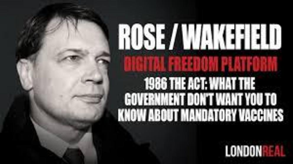 LondonReal: Dr. Andrew Wakefield 1986 The Act