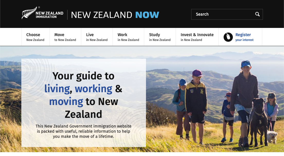 45,000 Americans Flood New Zealand's Immigration Website During Election