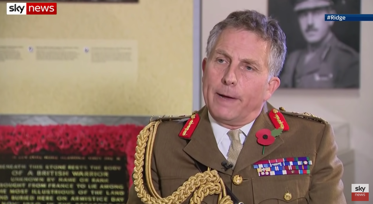 "Top UK Military Commander Warns Of World War III Danger As ""Escalation Could lead To Miscalculation"""