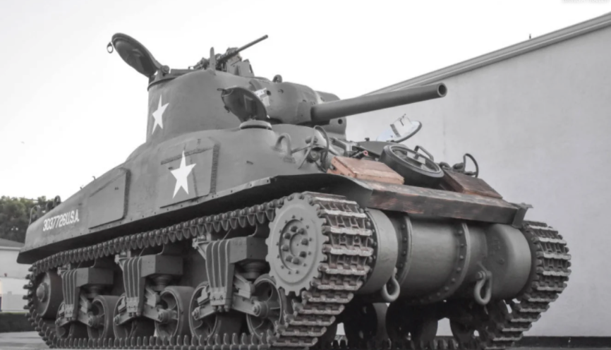 ​​​​​​​Interest In Sherman Tank On Popular Auction Site Soars With America Trapped In Chaos