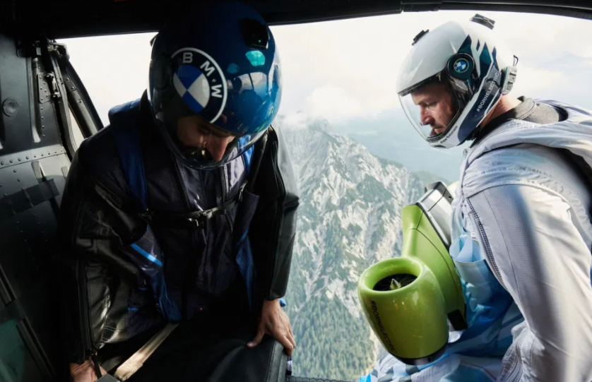 World's First Electrified Wingsuit Reached 186 MPH On First Flight