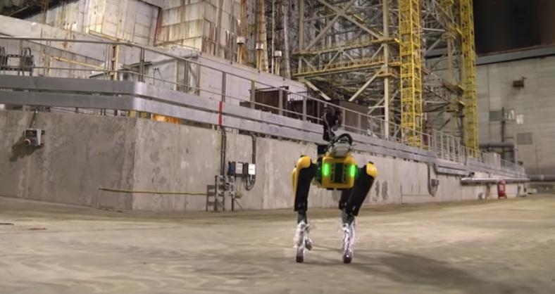"Boston Dynamics' Robot Dog Builds ""Radiation Map"" OfChernobyl Reactor"