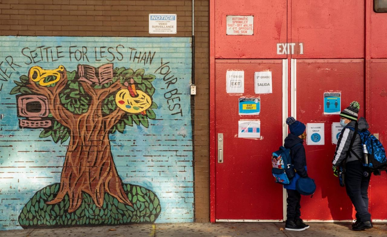 In Sudden Reversal, de Blasio Announces NYC To Reopen Elementary Schools, Phase Out Hybrid Learning