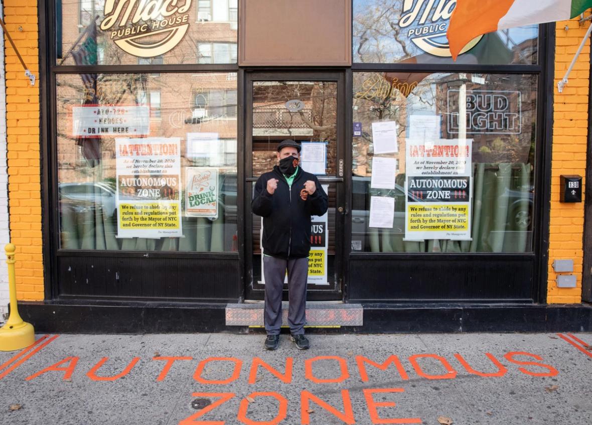 "NYC Pub Declares Itself ""Autonomous Zone"" After Government Tries To Shut It Down"
