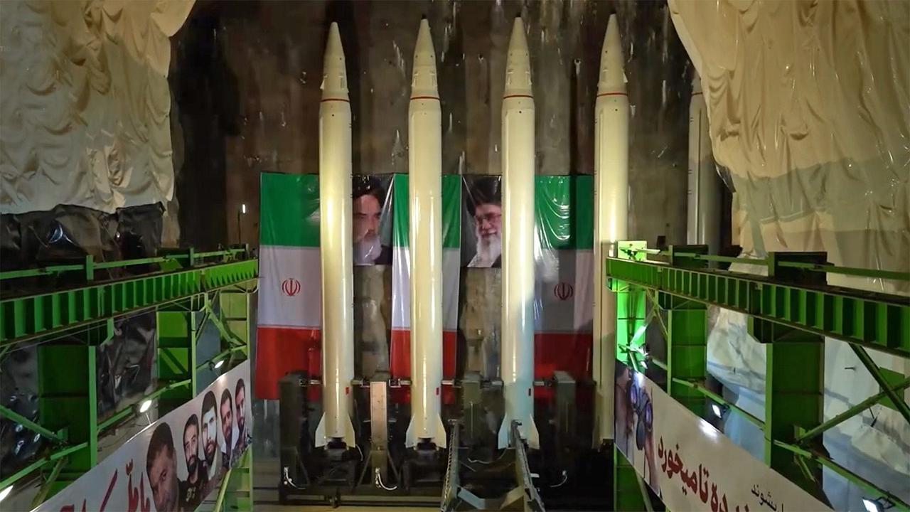 Iran Unveils NewBallistic Missile'Magazines' For Rapid Underground Launches