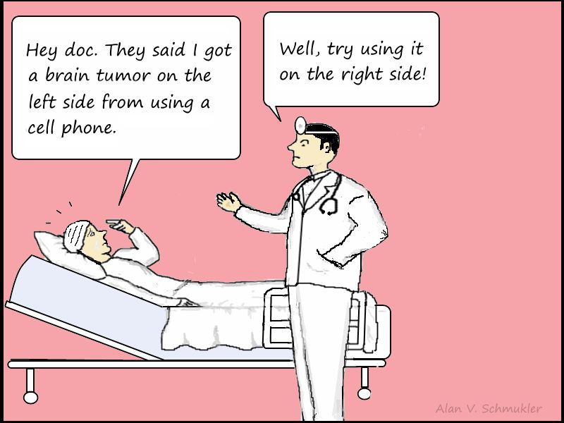 Research: Cell Phone Use of Approximately 17 Minutes Per Day for 10 years Increases Tumor Risk
