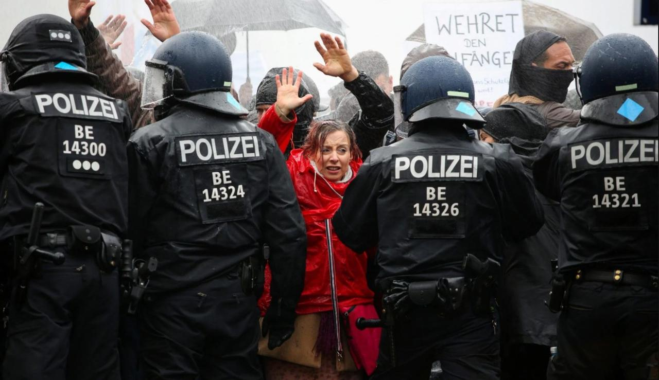 Rising Up – Anti-Lockdown Protests Spread Across Europe