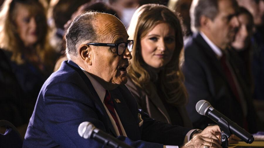 Watch Live: Trump Lawyers Address Arizona State Legislature On Election Integrity