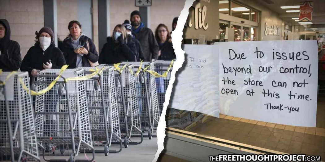 Time to Pay Attention: Grocery Stores Now Being Closed Under New Lockdown Measures