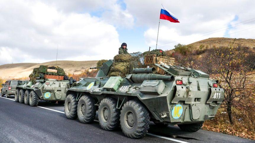 Russian Troops Officially Begin Patrol OfKarabakh, Oversee Exchange Of Bodies