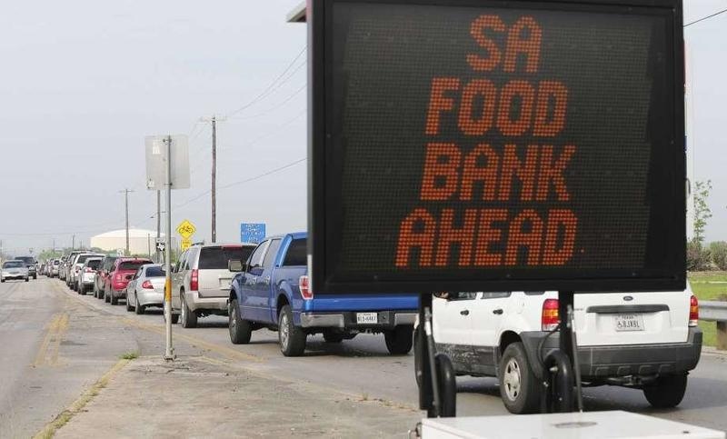 Growing Food Bank Lines Across America Signal Economic Crisis Far From Over
