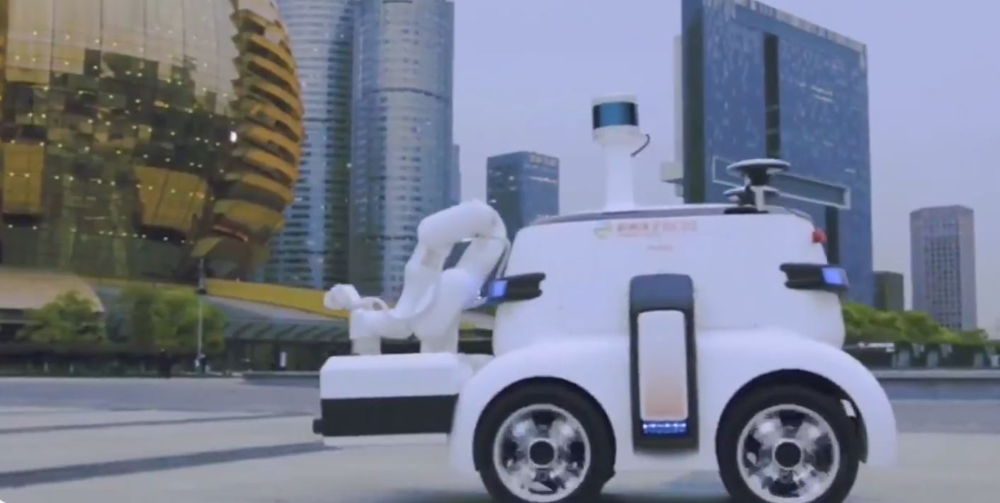 China Deploys Trash Collecting Robots Amid Automation Wave