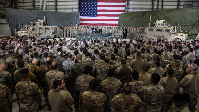 Trump Admin Orders Troop Draw-Down Order In Afghanistan & Iraq
