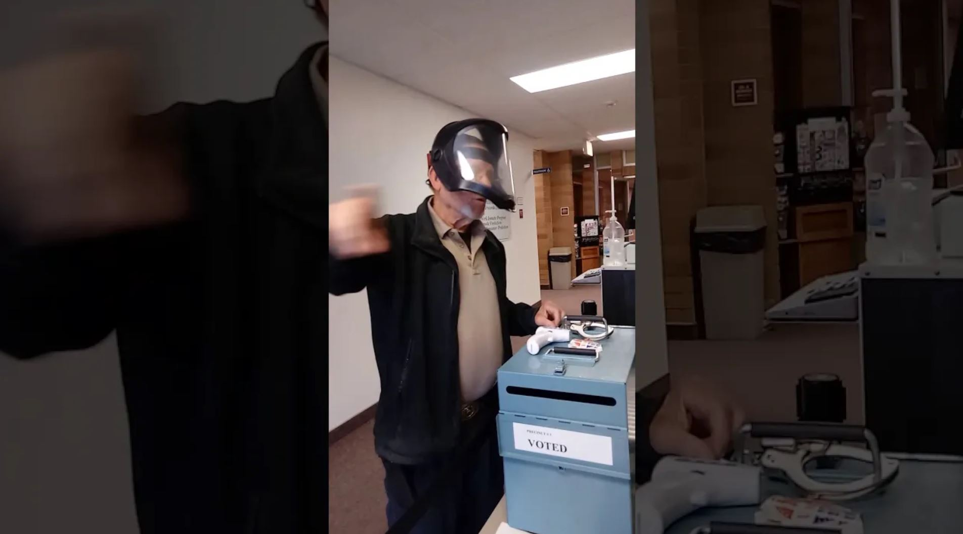 """You Cannot Vote without a Mask"" – Payette County Idaho (Videos)"