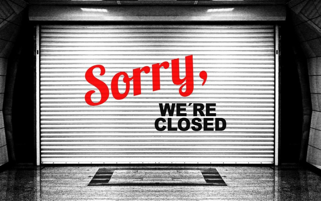 """""""It's Really Bad"""" – Almost One-Third Of Small Businesses In NY, NJ Have Closed"""