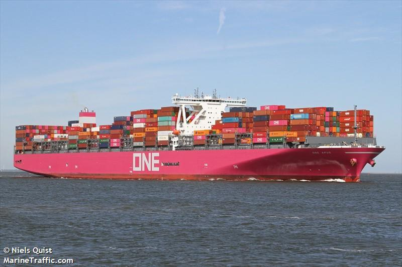 Ship Returning To Japan After Losing Record Number Of Containers While Crossing The Pacific