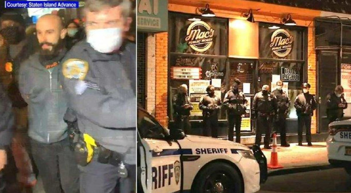 """Owner Of NYC Bar Arrested Days After Declaring """"Autonomous Zone"""" To Dodge Pandemic Restrictions"""