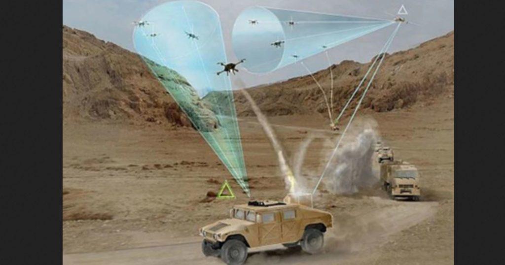 Marine Corps Wants Swarming Kamikaze Drones
