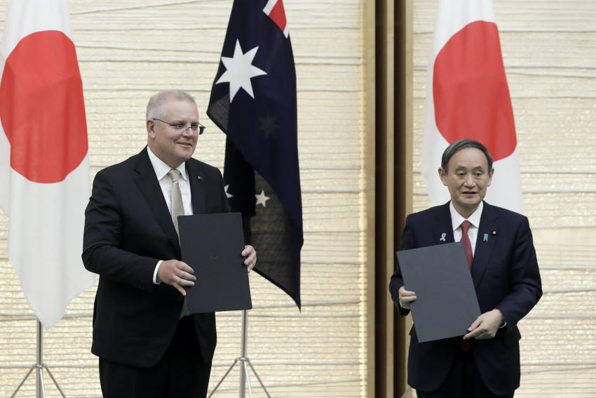 Australia To Sign Military PactWith US Ally Japan Amid Spiraling China Tensions