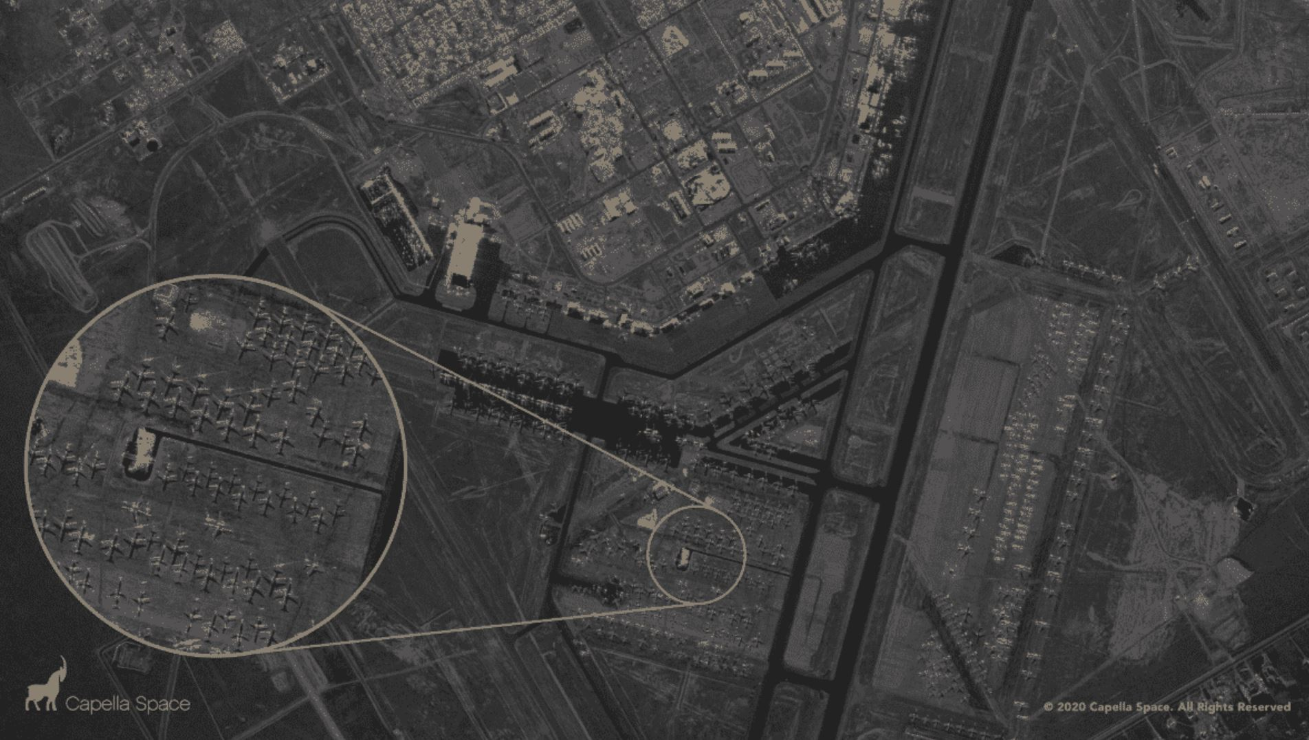 Despite Clouds Or Darkness, New Satellite Can See Into Buildings