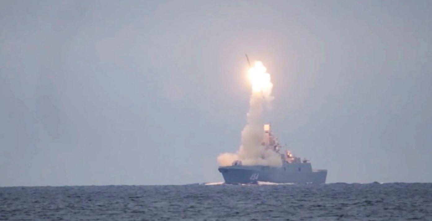 """Russia's Hypersonic """"Zircon"""" Missile Takes Flight"""