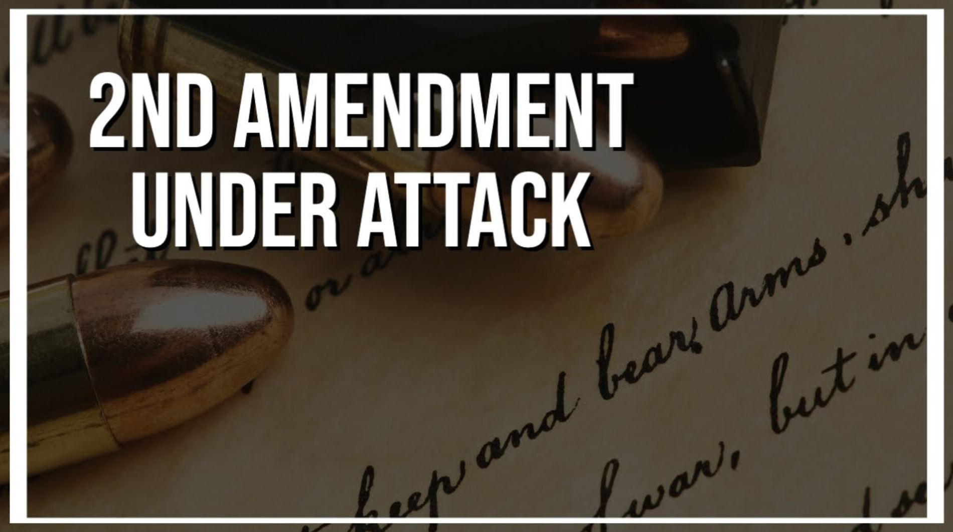 2nd Amendment Under Attack: An Overview of Federal Gun Control on the Books