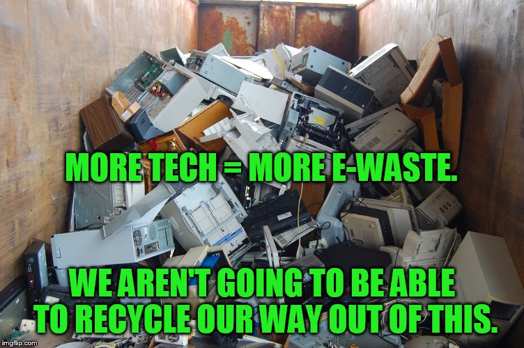 Innovations Reducing E-waste Levels Are Making Products More Difficult to Repair and Recycle