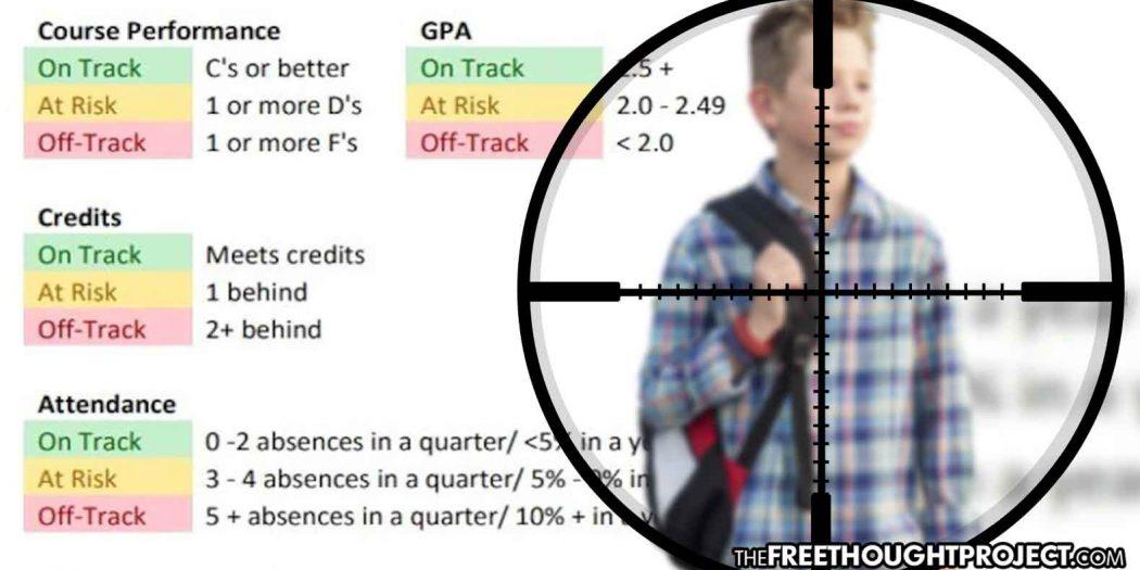 """Police Keep Secret List of Kids with Bad Grades Labeling Them """"Potential Criminals"""""""