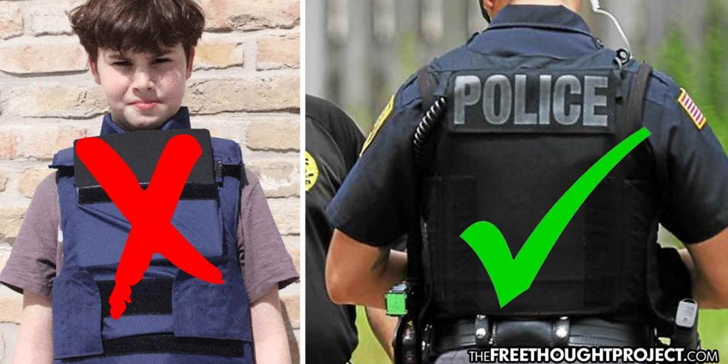 Proposed Bill Bans Body Armor, Makes Possession a Crime, Forces Citizens to Turn it In or Face Arrest