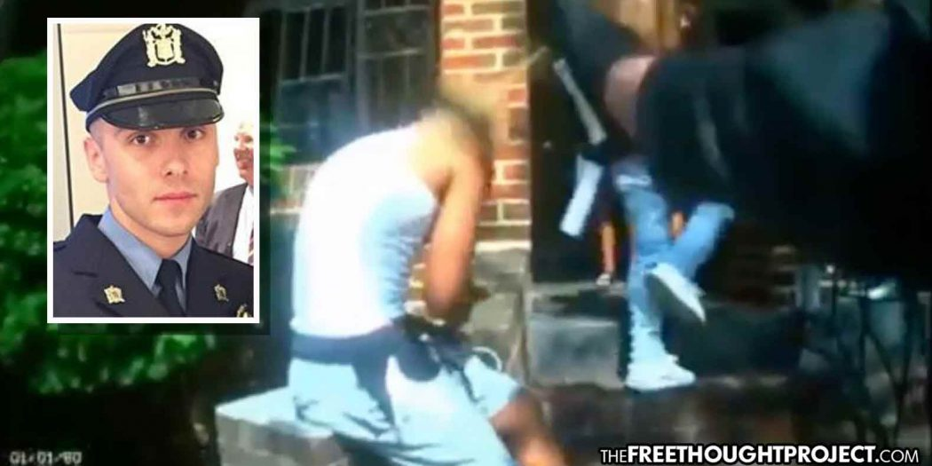 Cop Banned From All Taxpayer Jobs After Video Showed Him Mace Innocent Teen on Private Property
