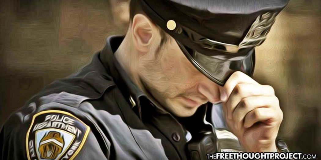 Nearly 4 Times as Many Cops Killed Themselves Than Were Shot and Killed in 2020