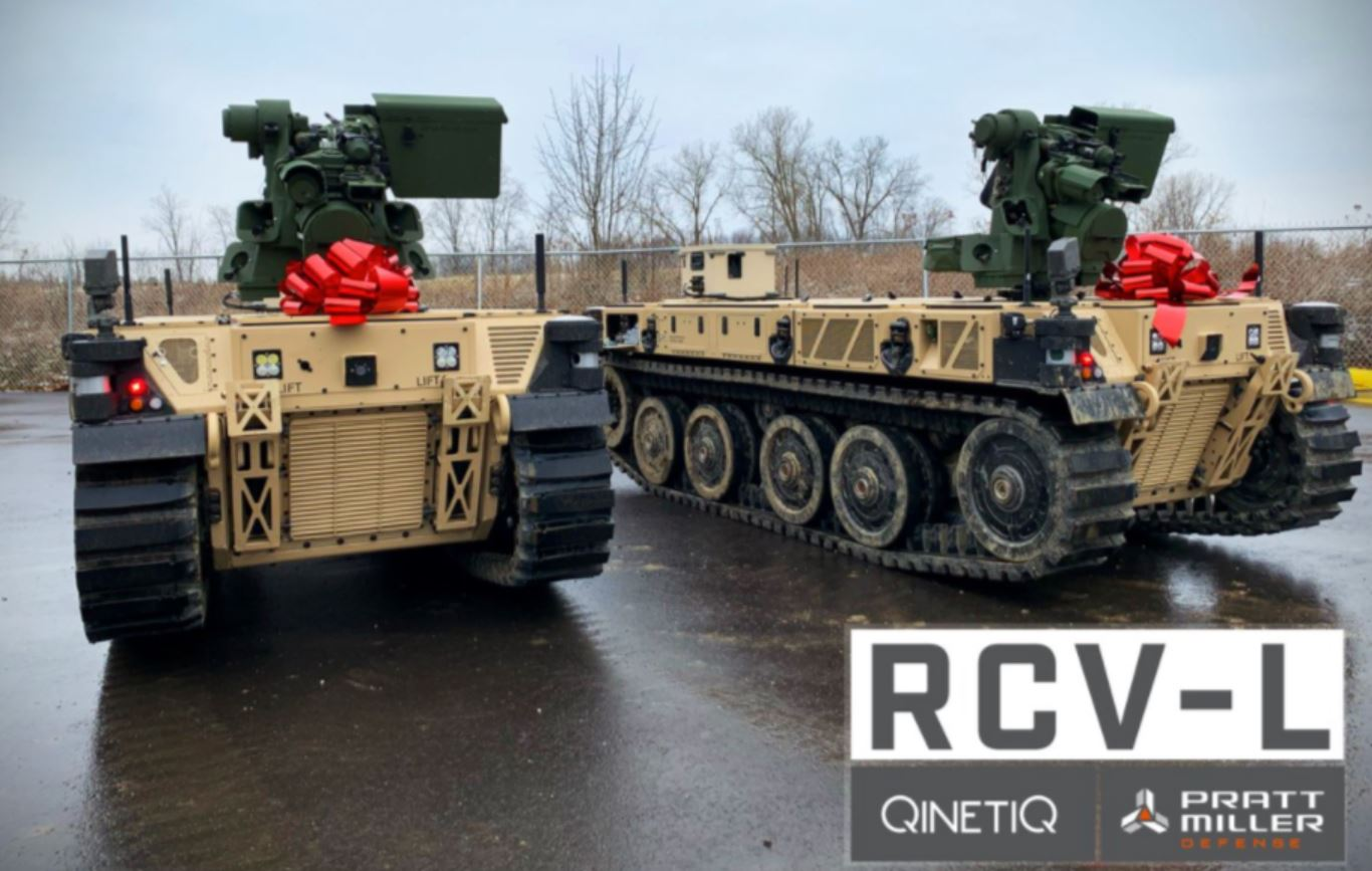 "Army Receives Two Robotic Combat Vehicles That Will ""Revolutionize"" Combat Operations"