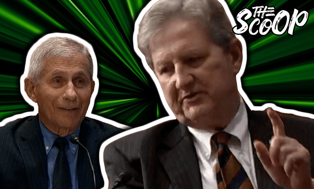 Sen. John Kennedy Grills Dr. Fauci On Trusting Chinese Researchers, Fauci's Boss Reveals Bombshell