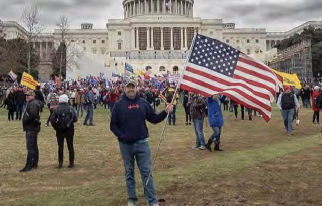 Federal Prosecutors Drop Charges Against Jan. 6 Protester Chris Kelly After FBI Dirtbags Lied and Said He Went Inside US Capitol When He Didn't