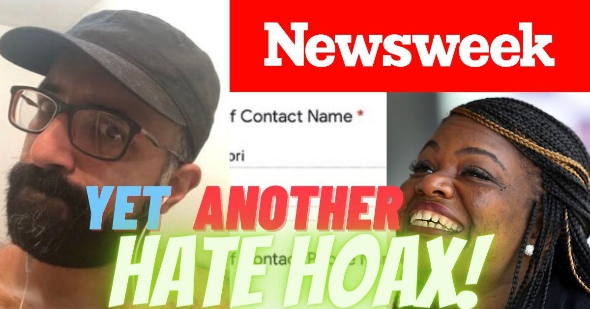 WOW! Rep. Cori Bush Implodes her own Race Hoax, Newsweek's Credibility, Before it Begins