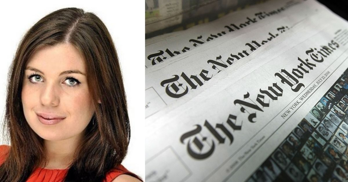 New York Times, Katie Robertson, Continues Covering for 1619 Project's Lies