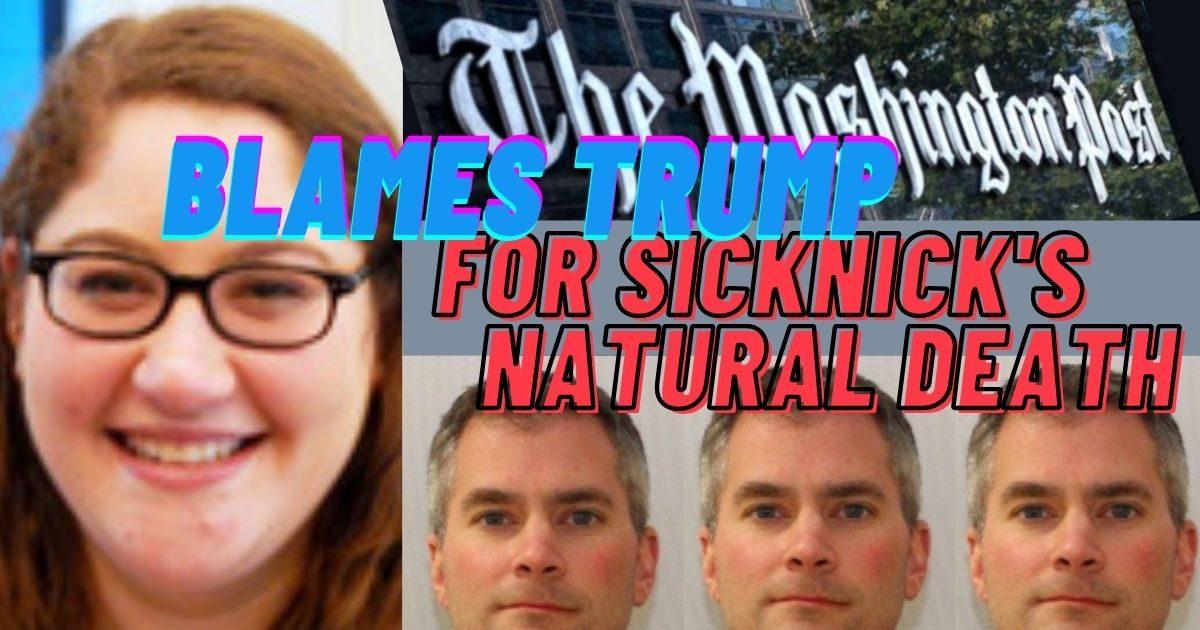 SHAMELESS: WashPost Keeps Lying About Officer Sicknick Death